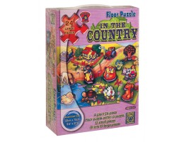 In The Country Floor Puzzle (24 pc)