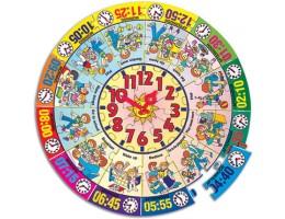 Around The Clock Floor Puzzle (48 pc)