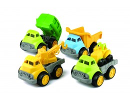 Plastic Construction Trucks (4)