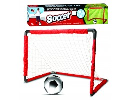 Collapsible Soccer Goal w/Ball