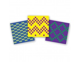 Explore Colors and Patterns Weaving Mat