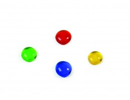 Transparent Rounded Counting Gems