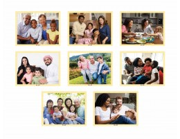 Families of Today (Set of 8)