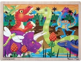 Wooden Jigsaw Puzzle Prehistoric Sunset (24pc)