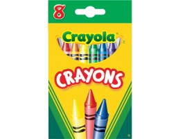 Regular Crayons 8CT