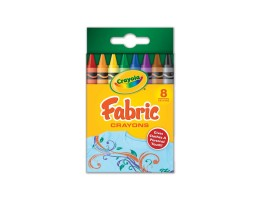 Fabric Crayons 8ct.