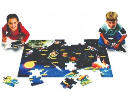 Space Exploration Floor Puzzle (48 pc)