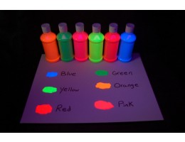Fluorescent Tempera Paint 1L