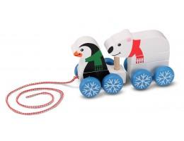 Penguin & Polar Bear Pull-Along
