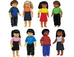 Multicultural Toddler Doll Set