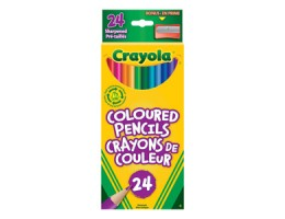 Regular Coloured Pencils 24CT