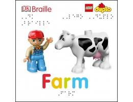 DK Braille: LEGO DUPLO: Farm Book