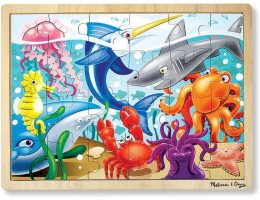 Wooden Jigsaw Puzzle Under the Sea (24pc)