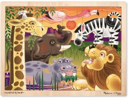 Wooden Jigsaw Puzzle African Plains (24pc)