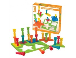 Smart Shape and Stacking Pegs