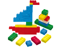 Jumbo Building Bricks (1,000 Pcs)