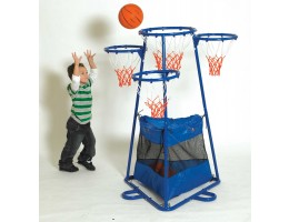 4-Ring Basketball Set