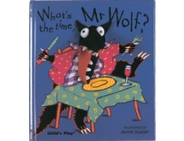 Finger Puppet Book: What's the Time, Mr Wolf?