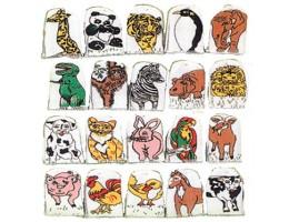 Wild & Farm Animal Finger Puppets