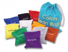 Colours Bean Bags (10)