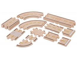 Roadway System: 42 Pc Set