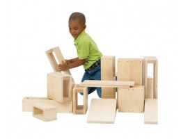 Jr. Hollow Blocks - 16 Blocks