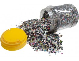 Round Sequins Mix assorted Cupped 16oz