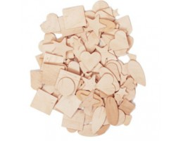 Woodsies - Wood Shapes 1000pkg