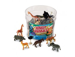 Jungle Animals Pack of 60