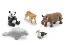 Jumbo Endangered Animals **