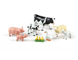 Jumbo Farm Animals: Mommas & Babies