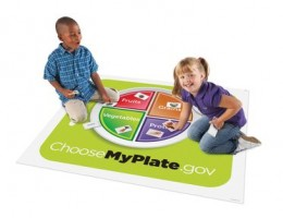 Healthy Helpings MyPlate Activity Mat