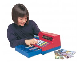 Cash Register with Canadian Currency
