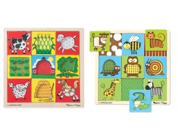 Peek-Through Puzzle (Set of 2)