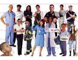 Career Floor Puzzle (36pc)