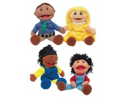 Multi-Cultural Full Bodied Puppets