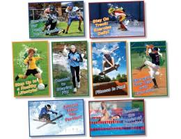 Kids in Motion: Bulletin Board Set