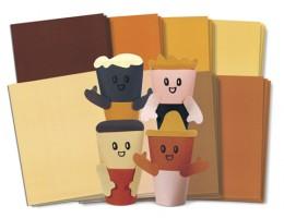 Skintone Craft Paper 48/pkg