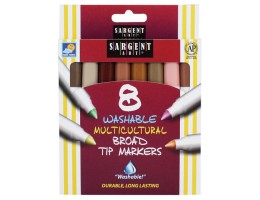 Multicultural Washable Markers