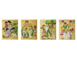 Family Outing and Activities (Set of 4)