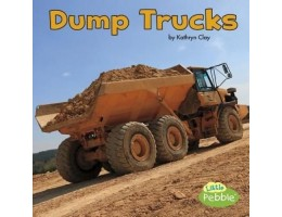 Construction Vehicles at Work (4) Soft Cover