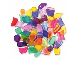 Creativity Street® Plastic Mosaic Shapes Assortment