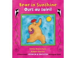 Bear in Sunshine Book English-French