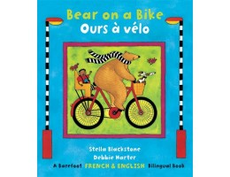 Bear on a Bike Book: English-French