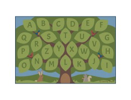 Alphabet Seating Tree - Rectangle