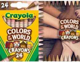 Colours of the World Skin Tone Crayons