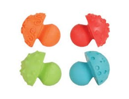 Paint and Clay Mushroom Stampers