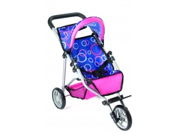3-Wheel Doll Stroller