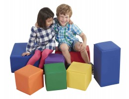 SoftZone 7-Piece Big Blocks - Primary