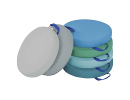 SoftZone Round Floor Cushion with Handle 6-Piece